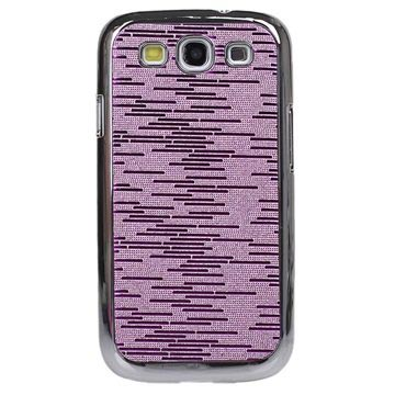 Custodia Rigida Plated per Samsung Galaxy S3 I9300 - Viola