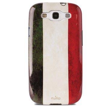 Custodia Puro per Samsung Galaxy S3 i9300 - Bandiera Italiana