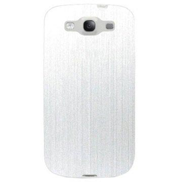 Cover Click-On Puro per Samsung Galaxy S3 i9300 - Bianco Metallizzato