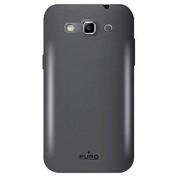 Custodia in Silicone Puro per Samsung Galaxy Win I8550, I8552 - Nera