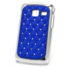 Custodia Bling Diamond per Samsung Galaxy Y Duos S6102 - Blu Scuro